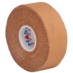 HART Rigid Strapping Tape 25mm Tube of 12  - Tan
