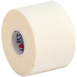 HART Trainers Rigid Tape 50mm Tube of 6 - White