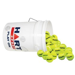 HART Bucket of Coaching Tennis Balls