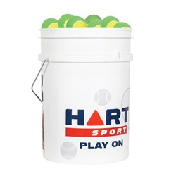 HART Bucket of Low Compression Tennis Balls - 25%