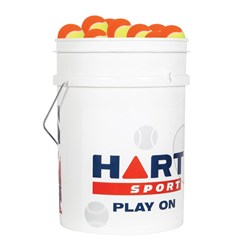 HART Bucket of Low Compression Tennis Balls - 50%