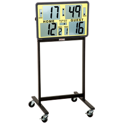 HART Portable LCD Electronic Scoreboard with Stand