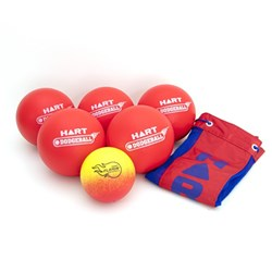 HART Flamin Dodgeball Pack