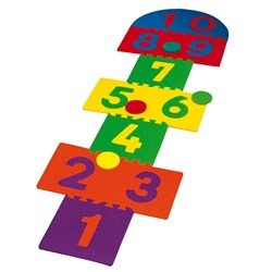 HART Foam Hopscotch Set