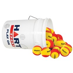 HART Bucket of Foam Trainer Balls - 9cm