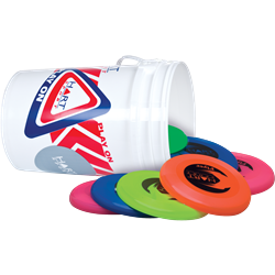 HART Bucket of Frisbees