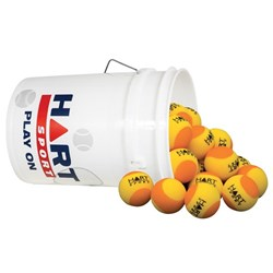 HART Bucket of Foam Trainer Balls - 7cm