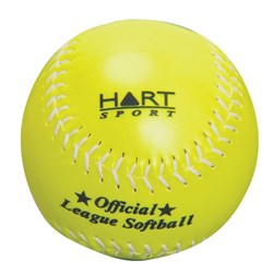 HART Synthetic Leather Softball