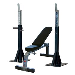 HART Pro Squat Stand Combo Flat/Incline Bench