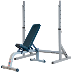 HART Squat Stand Combo Flat/Incline Bench