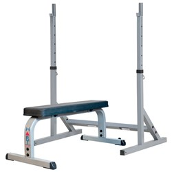 HART Squat Stand Combo Flat Bench