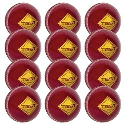 HART Test 4 Piece Cricket Ball 156g - Dozen