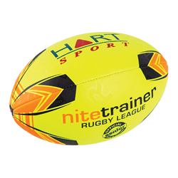 HART Nite Trainer Rugby League Balls