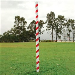 Cardboard Corner Post Red & White