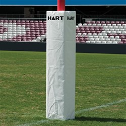 HART Square Rugby Post Pads 35cm - 150mm Cut Out