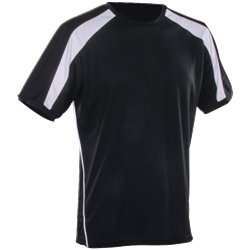 Agility T-Shirt Black/White