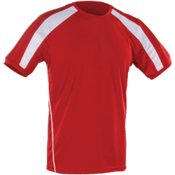 Agility T-Shirt Red/White