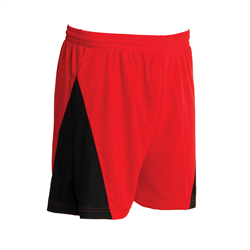 Evader Shorts Junior Sizes Red/Black XS