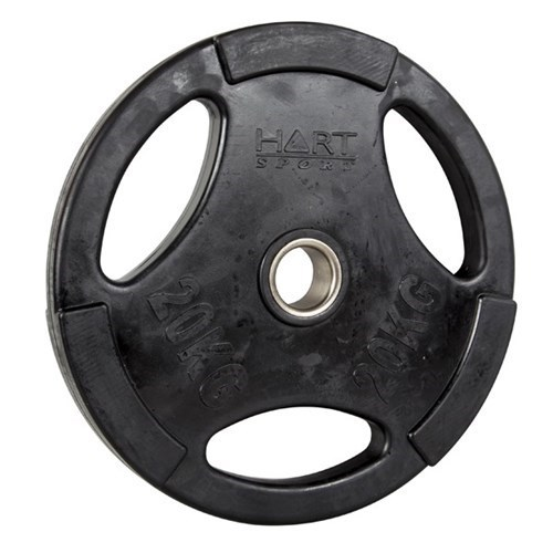 HART Rubber Coated Olympic Plates