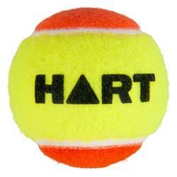 HART Low Compression Tennis Ball 60mm - Yellow/Orange