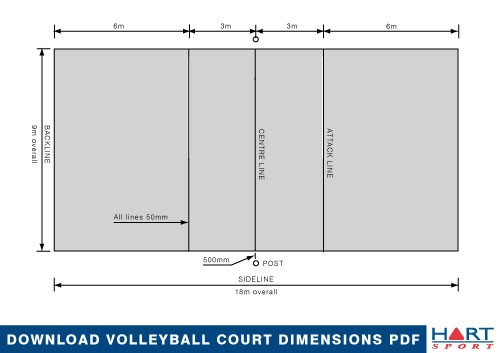 Volleyball Information Hart Sport
