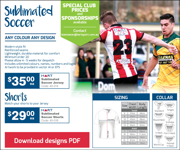 Sublimation Soccer