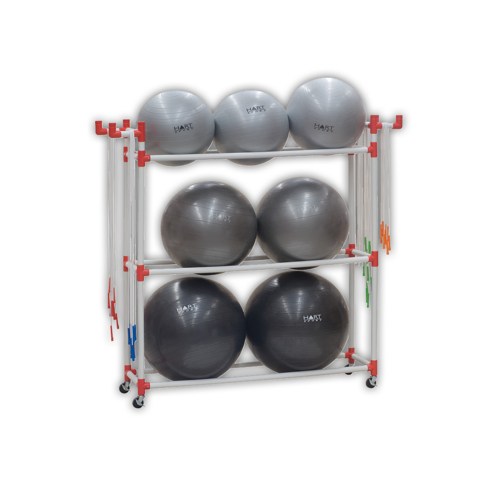 Swiss Ball Racks & Accessories