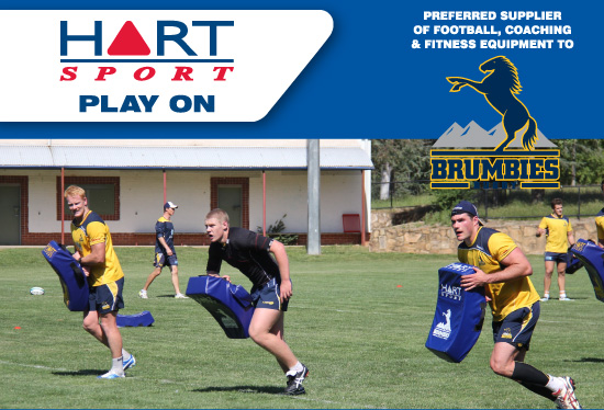 Brumbies training