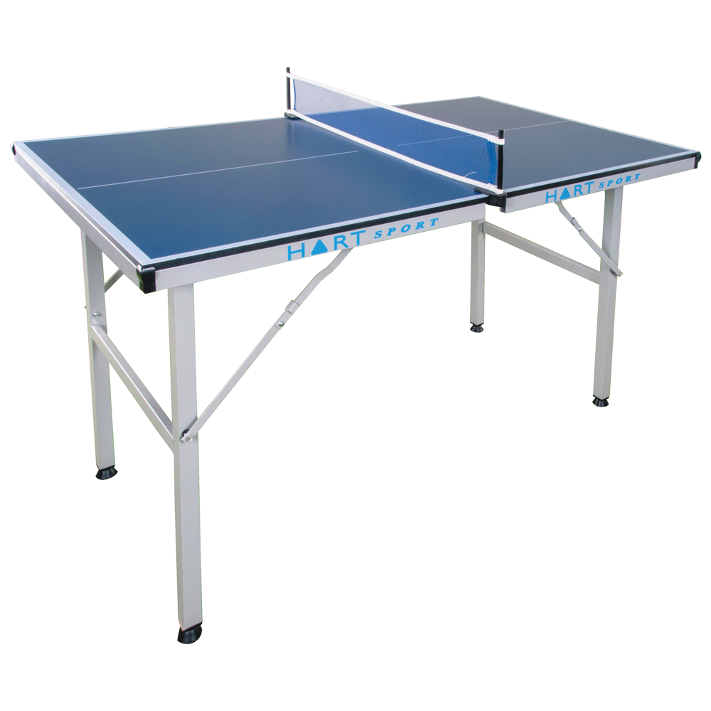 Hart mini table tennis table hart sport for Table tennis