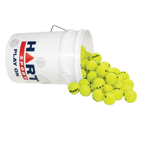 HART Bucket of X-Out Tennis Balls