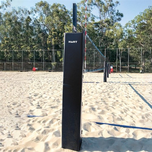 HART Pro Volleyball Post Pad Black - 2m