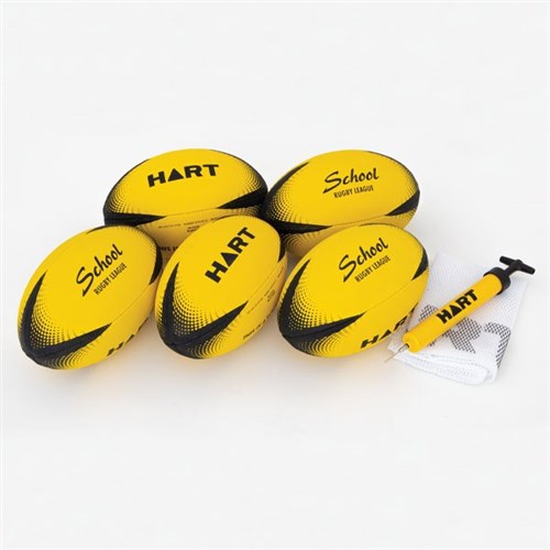 HART School Rugby League Ball Pack - Mod