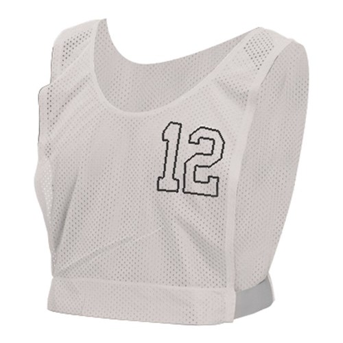 HART Basketball Numbered Bibs Snr - White