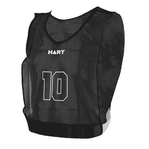 HART Basketball Numbered Bibs Jnr - Black