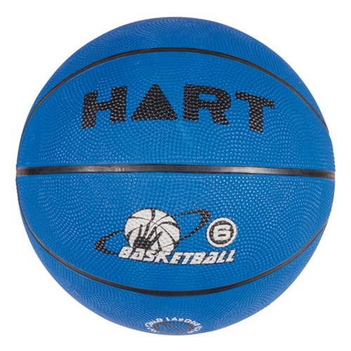 HART Colour Basketball Size 6 - Blue