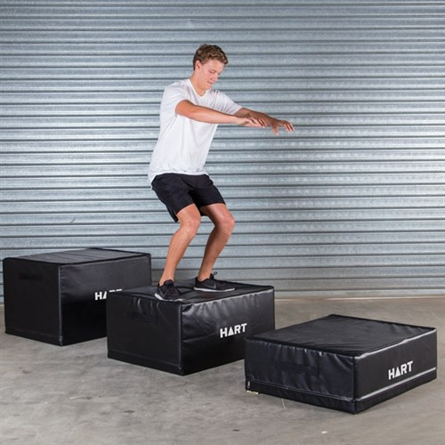 HART Jump Safe Foam Plyo Box Set
