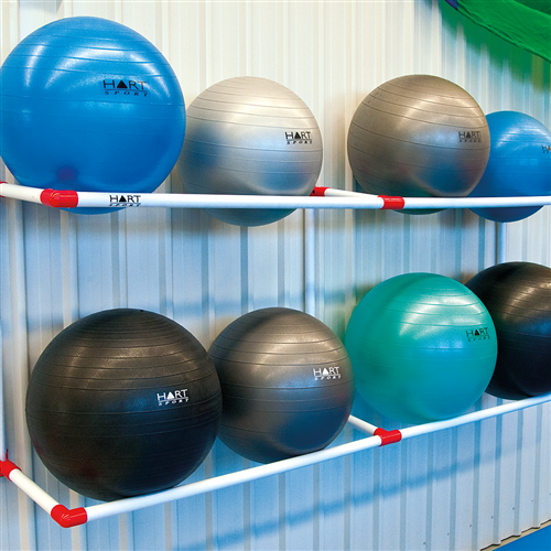 Hart Swiss Ball Wall Rack Swiss Ball Racks Accessories
