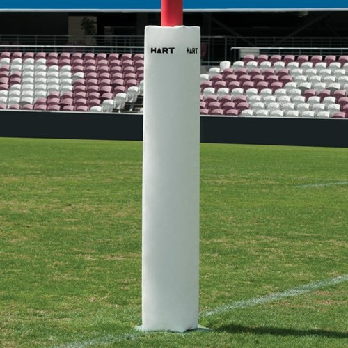 HART Square Rugby Post Pads 25cm