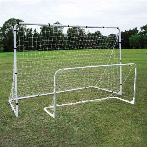 HART Steel Folding Soccer Goals