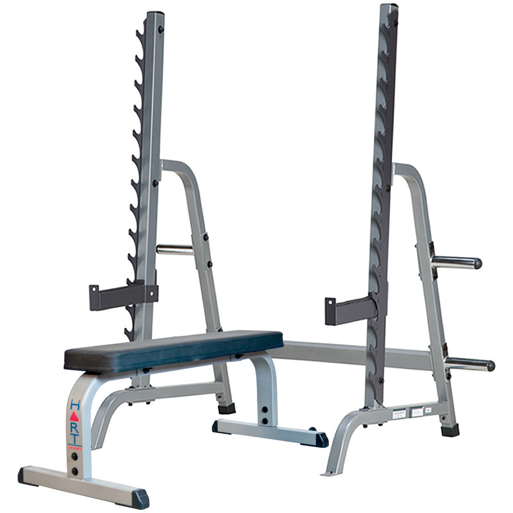 Hart Multi Press Rack Combo Flat Bench Hart Sport